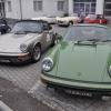 Dazwischen Porsche, ein beliebtes Rallyeauto. Foto: Lars Theunissen