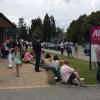 Endlich Mittagspause. Die AIL Leasing lädt in ihren Showroom nach Grünwald