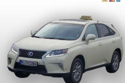 Das Lexus Hybrid Taxi für Grünwald