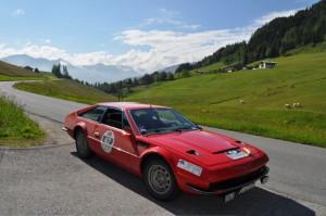 Lamborghini Jarama in der Wildschönau