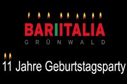 11 Jahre Bar Italia