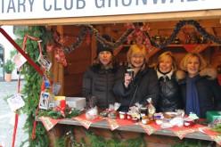 Rotary Club Grünwald auf dem Adventsmarkt