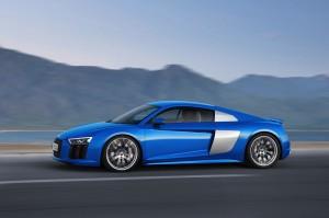 Audi R8 V10 Seite Fahr