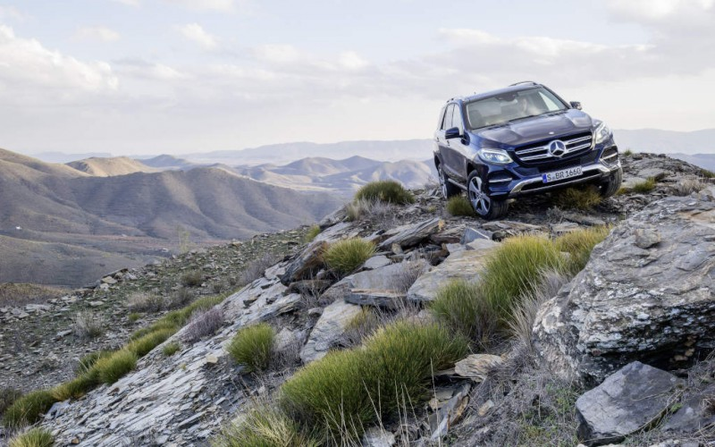 On Tour mit dem neuen Mercedes-Benz GLE Coupé: Mehr Sportwagen