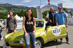 28. Kitzbüheler Alpenrallye: Bergerlebnisse für Automobilklassiker