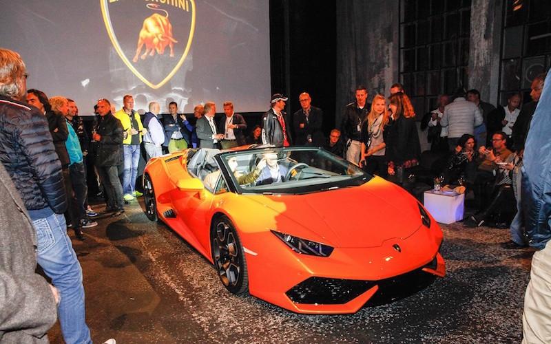 Lamborghini Huracan 610-4 Spyder: präsentiert von Lamborghini München