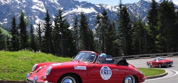 Berge, Täler, Alpenpässe auf 29. Kitzbüheler Alpenrallye 2016