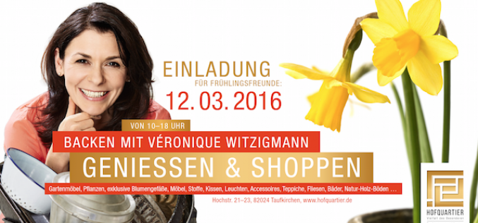 Backen mit Véronique Witzigmann am 12.03.2016
