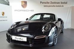 Auto des Monats by Porsche Zentrum Inntal: 911 Turbo S Cabrio