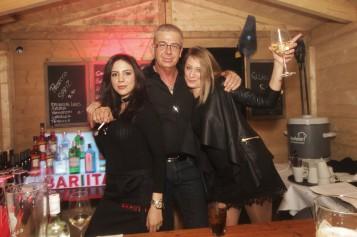 Das war der Party-Hütten-Wahnsinn in der Bar Italia