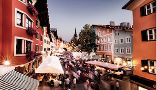 Grosses Sommernachtsfest in Kitzbühel am Samstag 6.8.2016