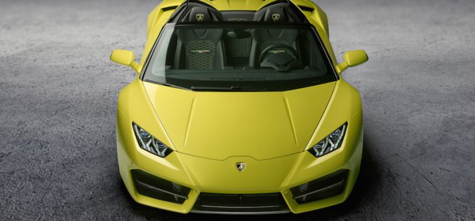 Oben ohne, vorne ohne … Lamborghini Huracan Spyder RWD