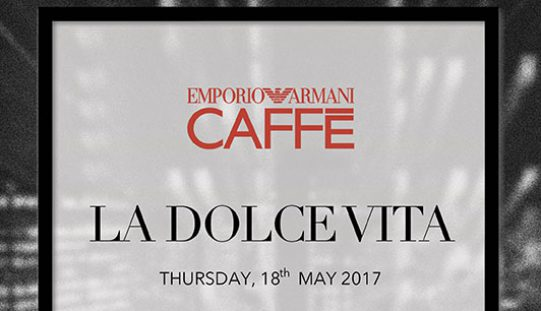 EVENT: La DOLCE VITA – The new italian nightlife experience