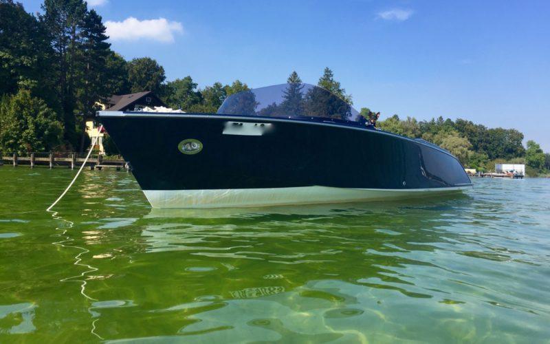Elektroboot zu verkaufen