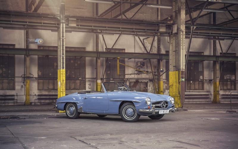 Klassiker des Monats: Mercedes 190 SL 1961