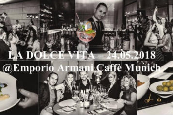 "EVENT: DInner and Dance ""LA DOLCE VITA"" in den Fünf Höfen in München"