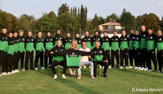 Firmensitz Grünwald kleidet TSV Grünwald neu ein