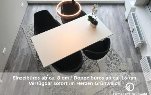Gewerbesteuer sparen: Büro in Grünwald frei zum 1.1.2019